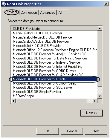 Connecting the external database - Auto Intellect 5 5 (english